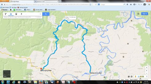 Wilberforce to Kurrajong
