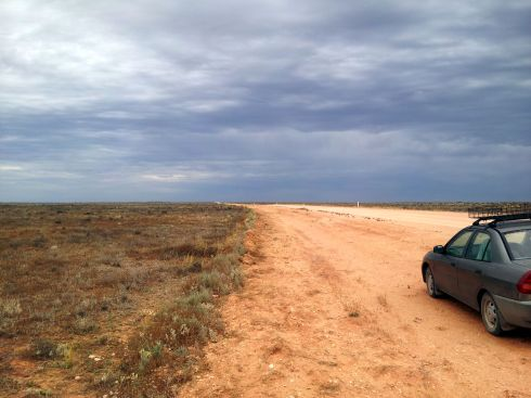 Old Renmark Road - West view