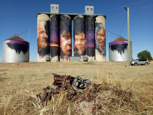 Sheep Hills silos